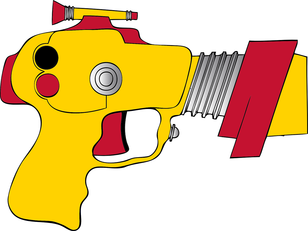 toy gun ray gun science fiction gun free photo
