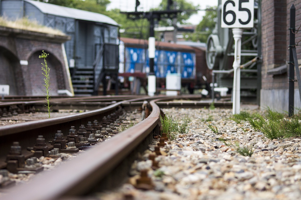 Track,train,rails,transport,train track - free photo from needpix com