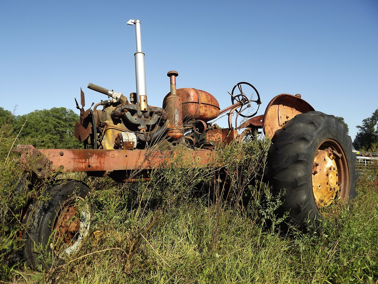 tractor antique tractors free photo
