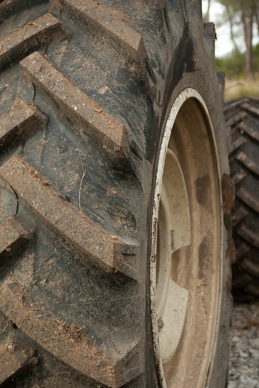 tractor tires wheels free photo