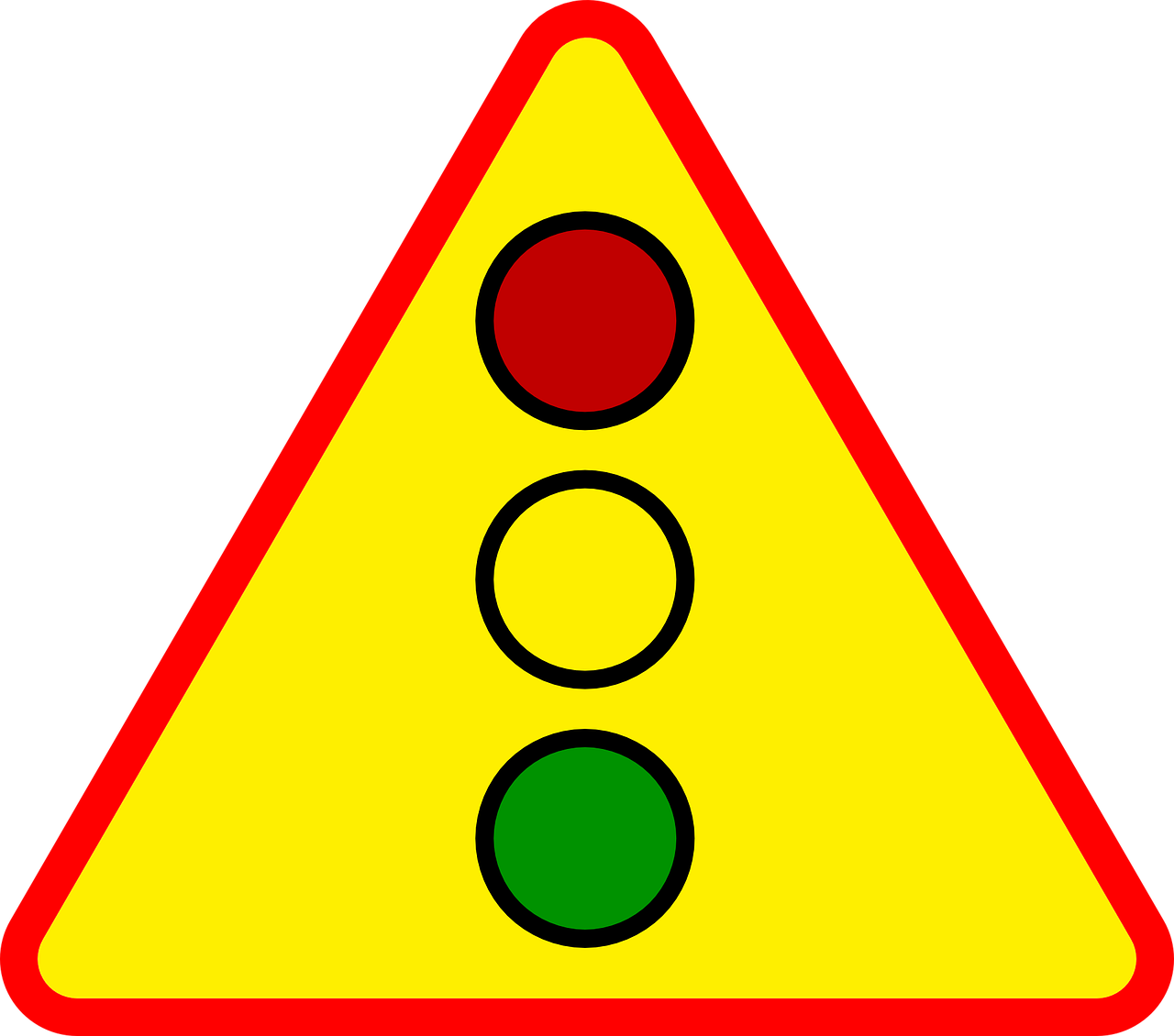 traffic signs triangle free photo