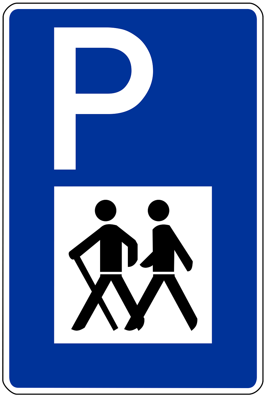 traffic sign,road sign,shield,traffic,road,street sign,wanderer,wanderparkplatz,parking,free pictures, free photos, free images, royalty free, free illustrations, public domain