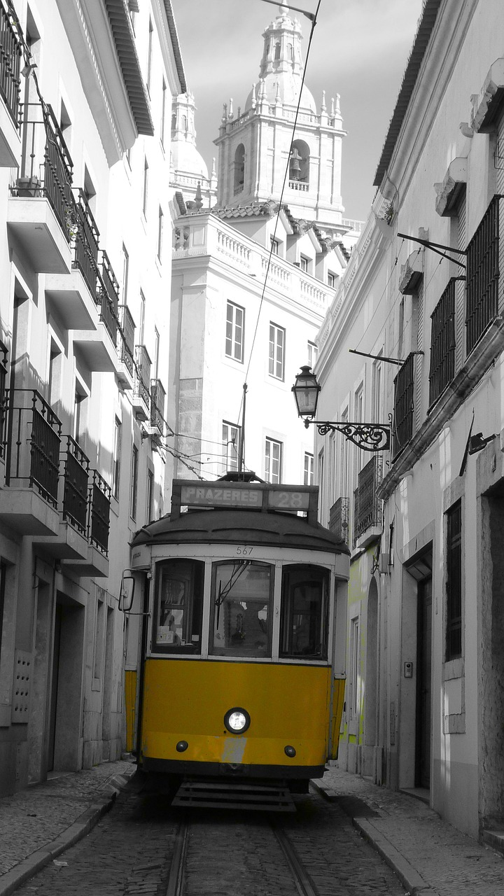 tram means of transport transport free photo