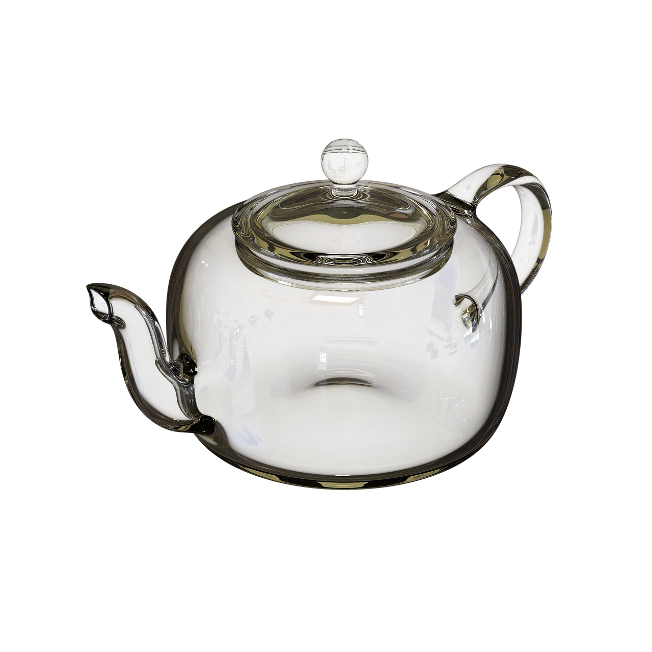 transparent kettle  transparent background  glassware free photo