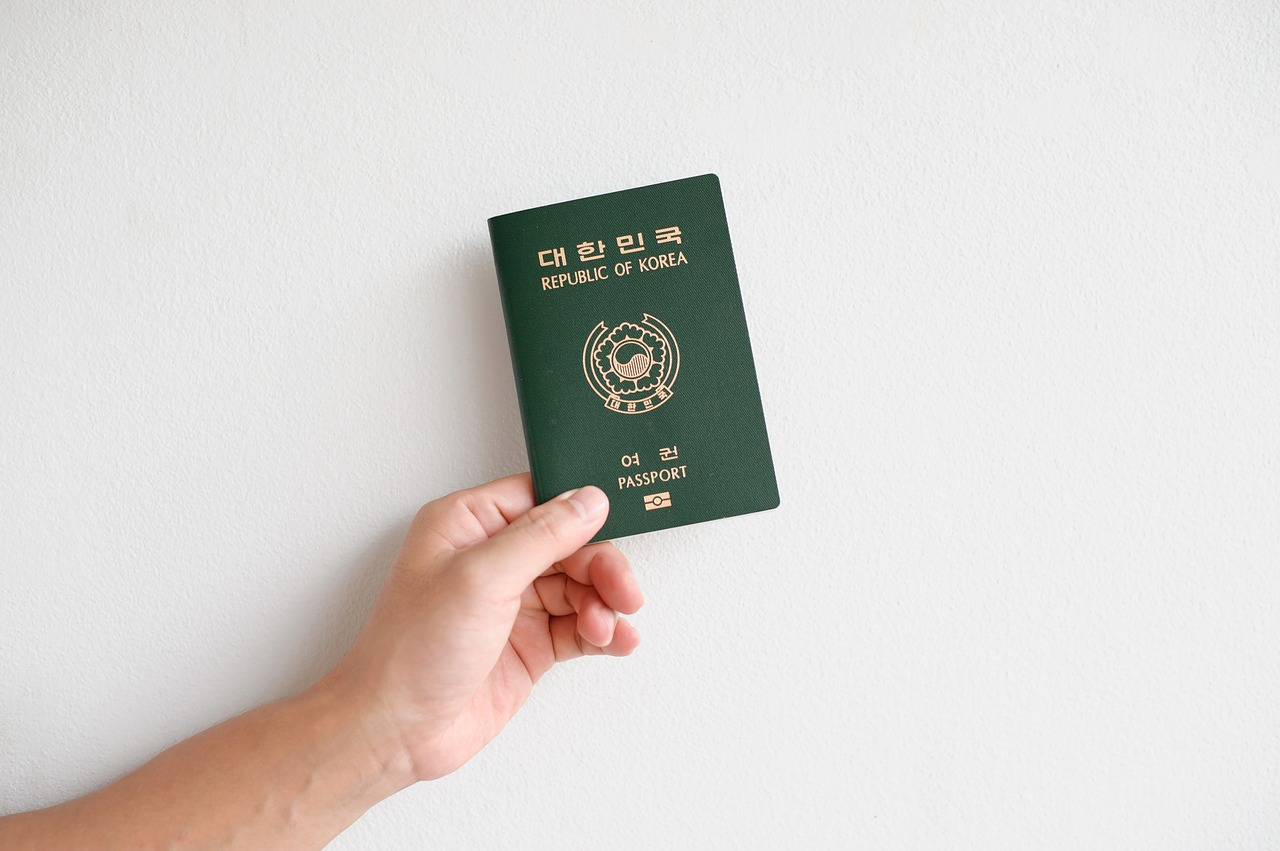 travel passport korea passport free photo