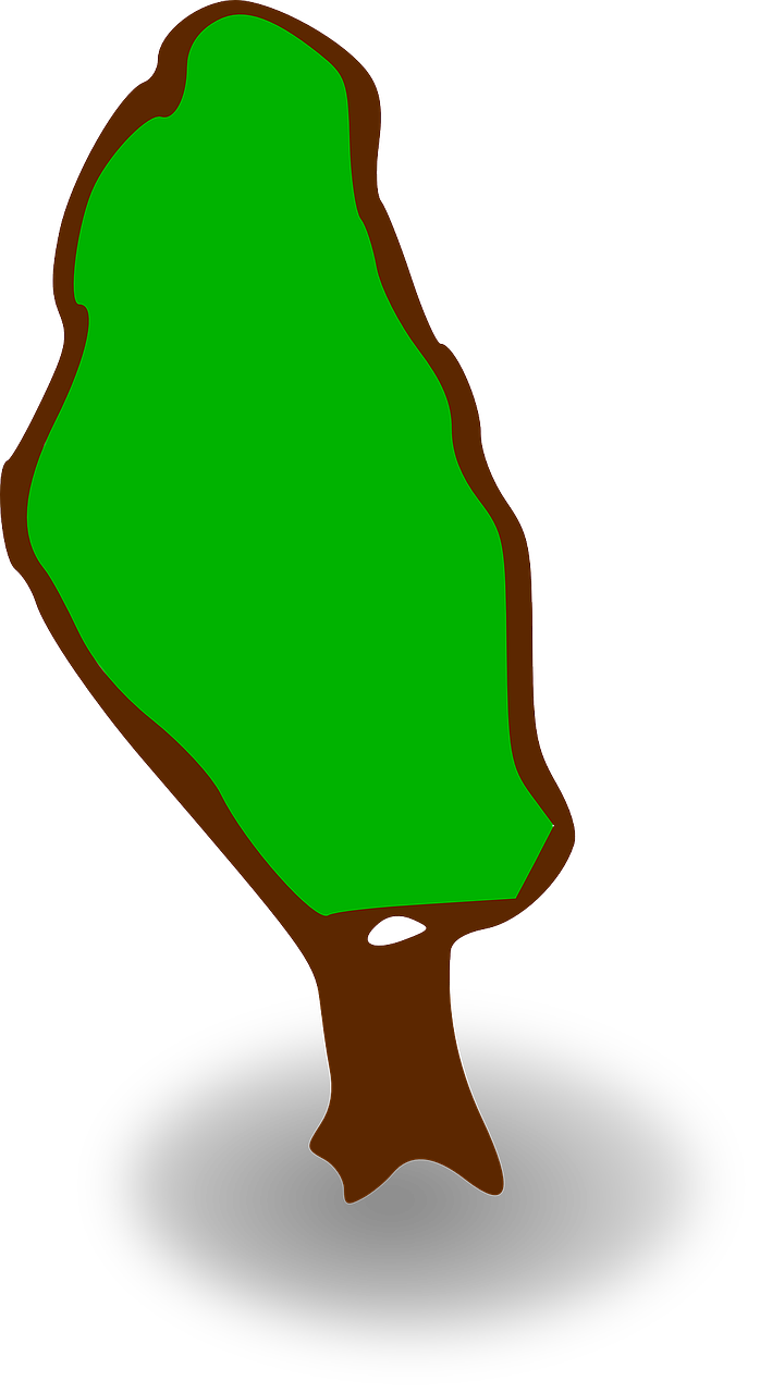 tree map symbol free picture