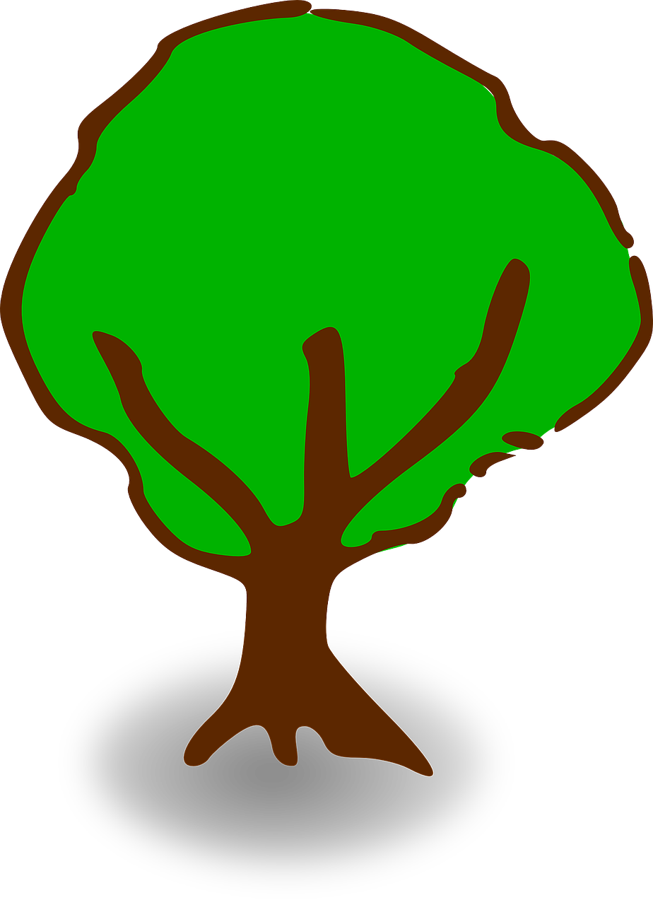 tree map symbol map legend free photo