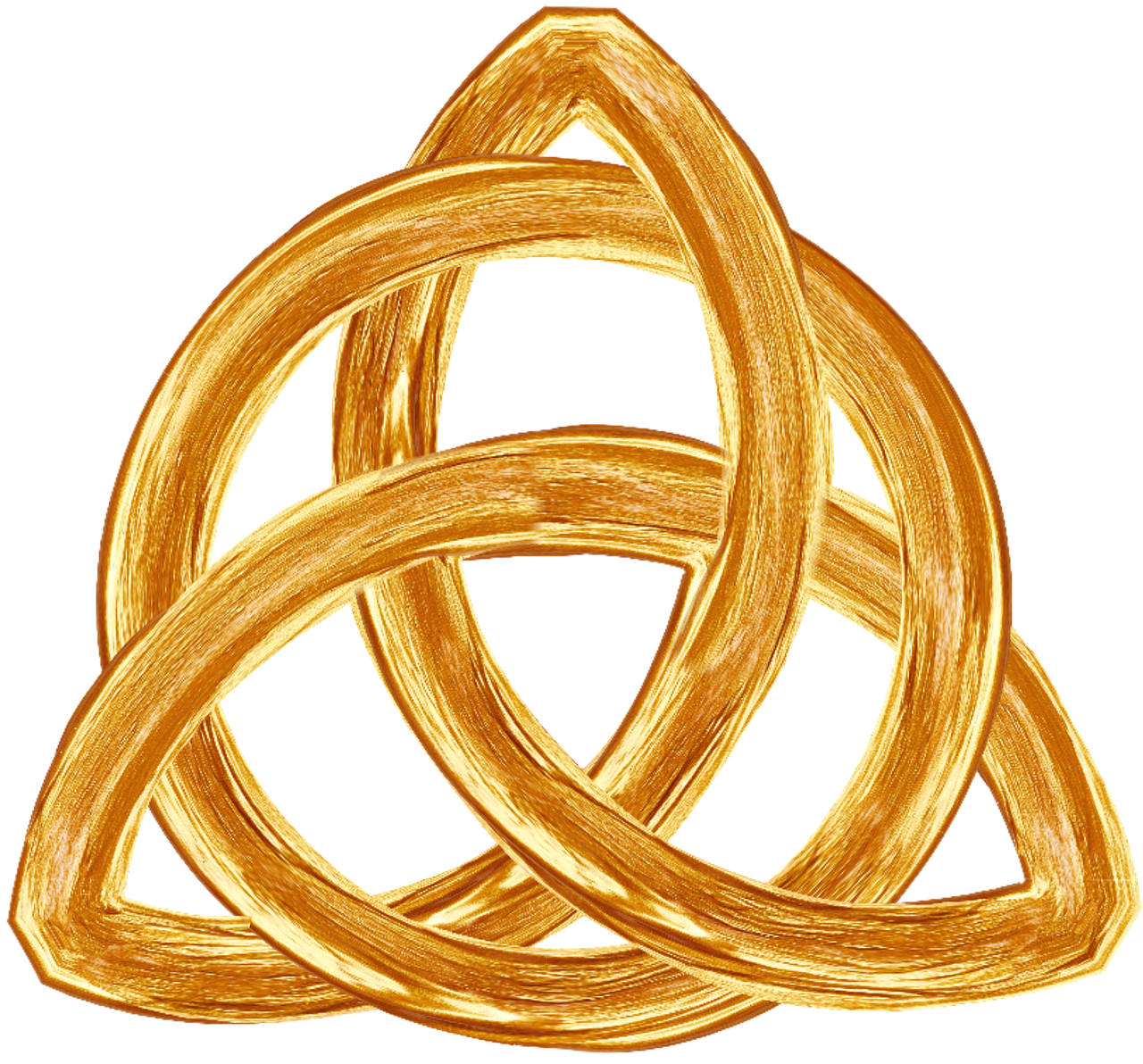 Trinity,gold,symbol,trefoil,religion - free image from needpix.com