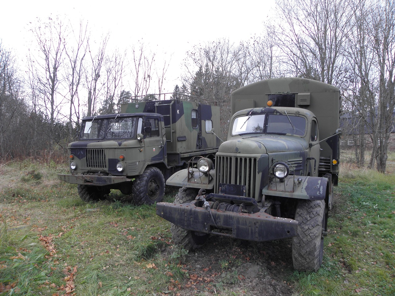 truck vehicle military free photo