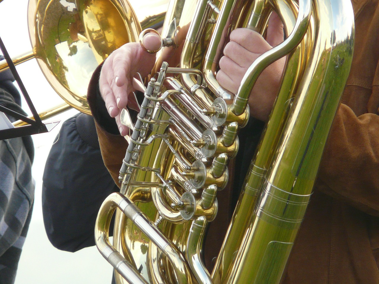 tuba blowers brass free picture