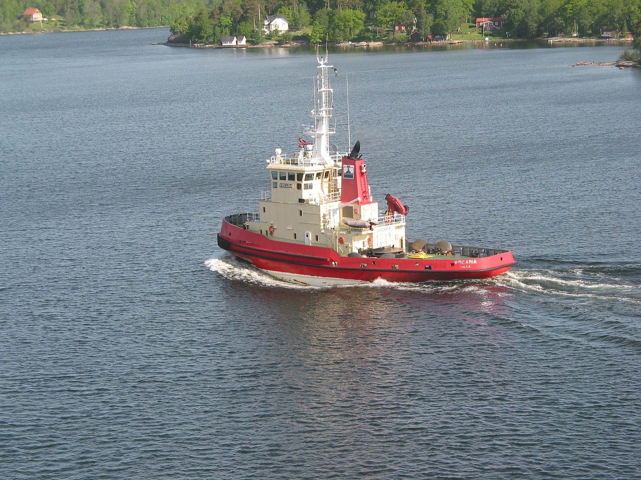 tugboat boat ship free photo