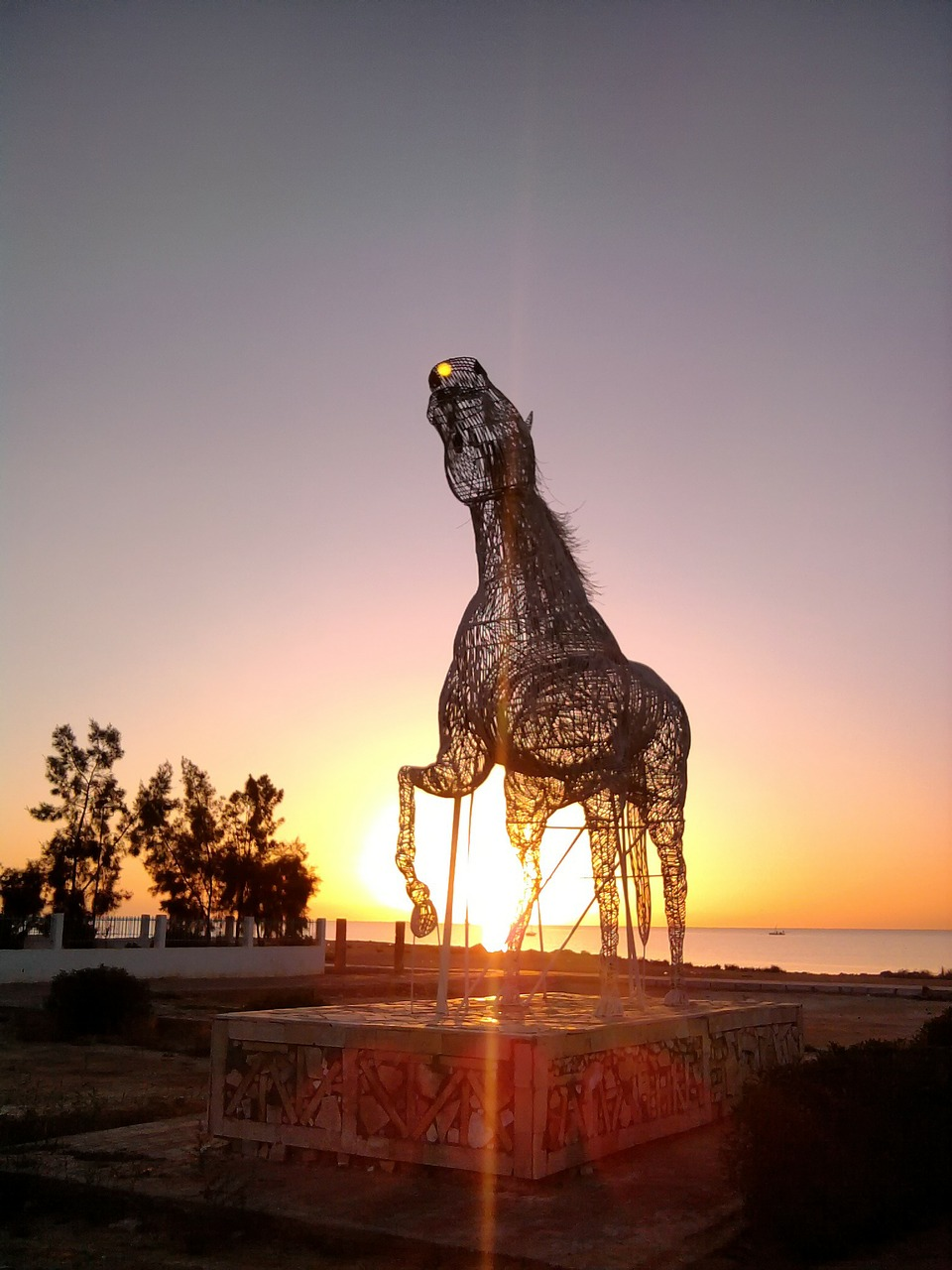 tunisia sculpture horse free photo