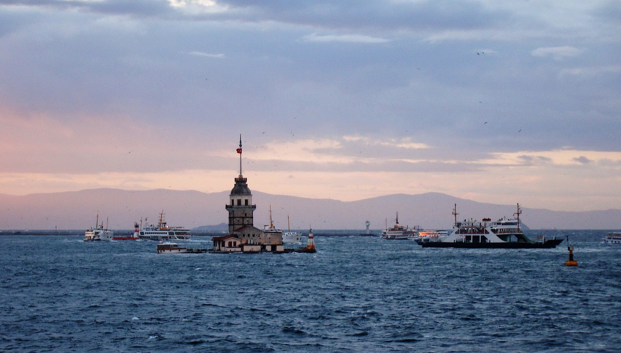 turkey bosphorus strait free photo