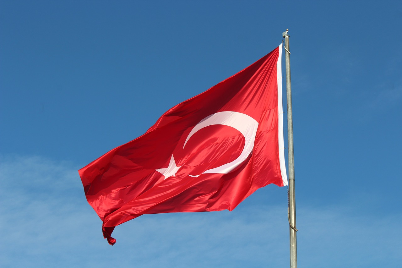 turkish  flag  turkey free photo