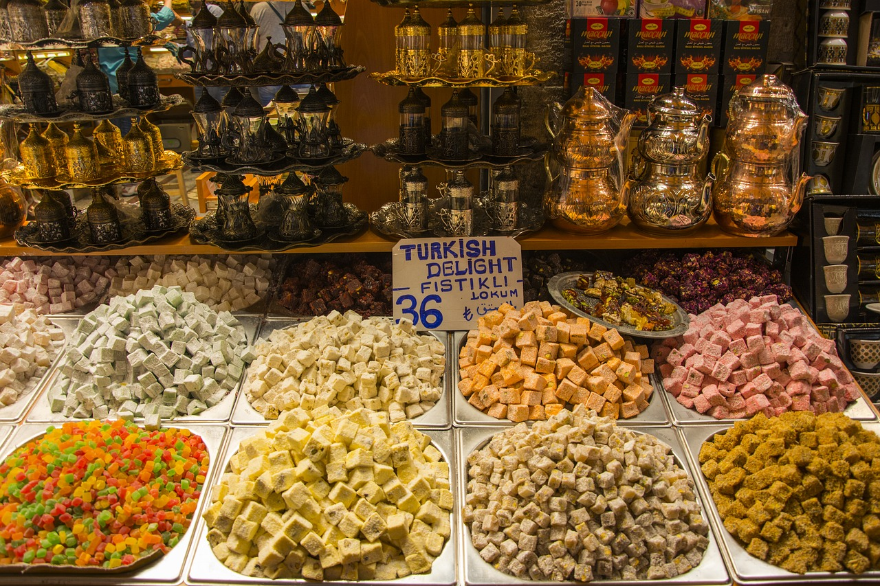 turkish delight  confectionery  food free photo