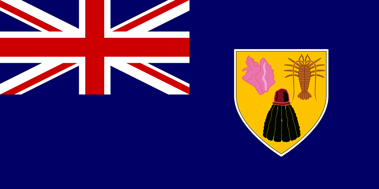 turks and caicos islands,flag,british overseas territory,island,ensign,symbol,free vector graphics,free pictures, free photos, free images, royalty free, free illustrations, public domain