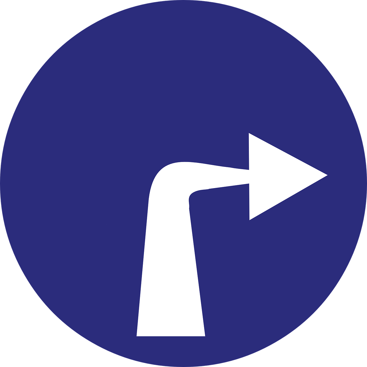 turn right arrow direction free photo