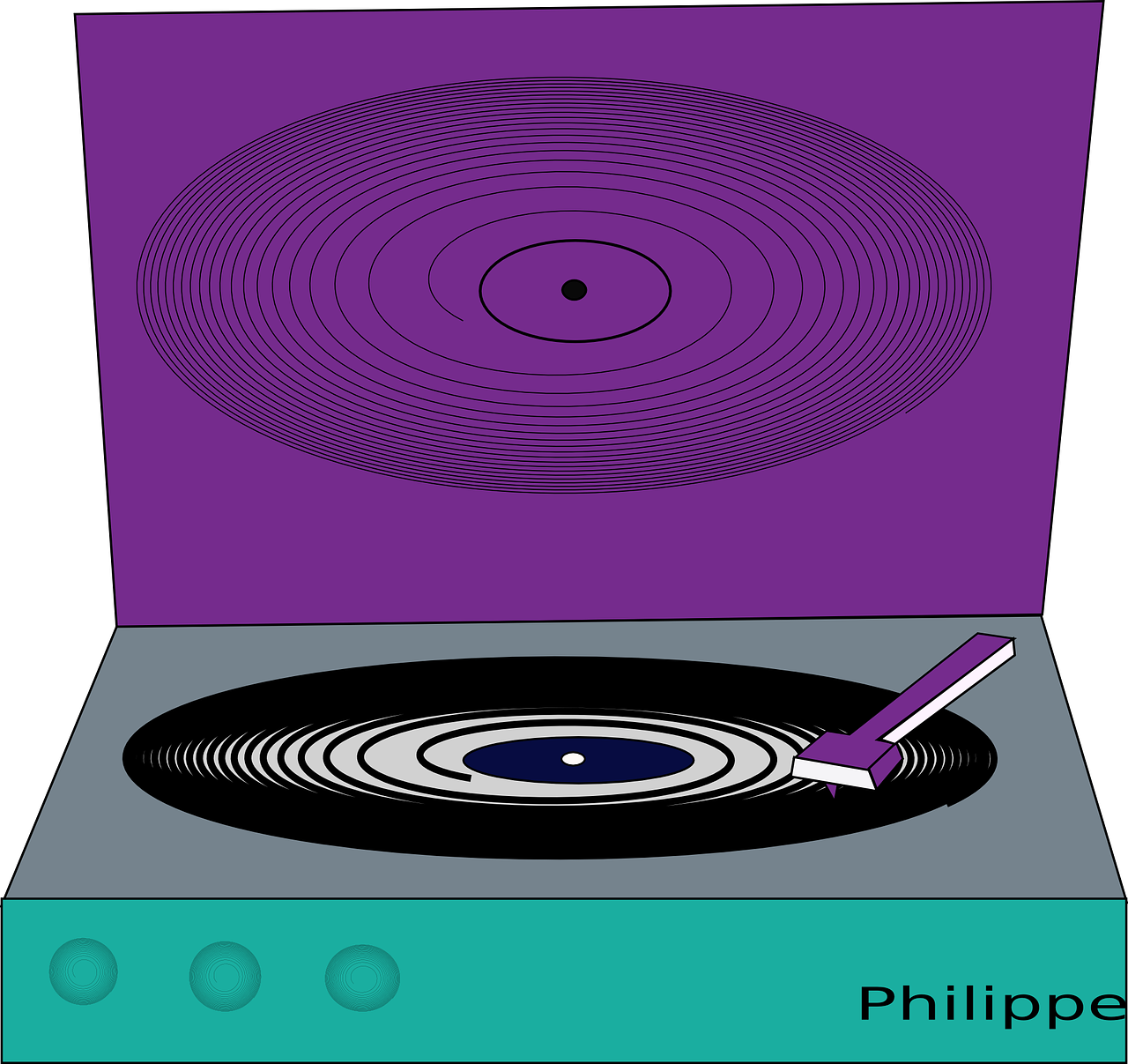 turntable music player free photo