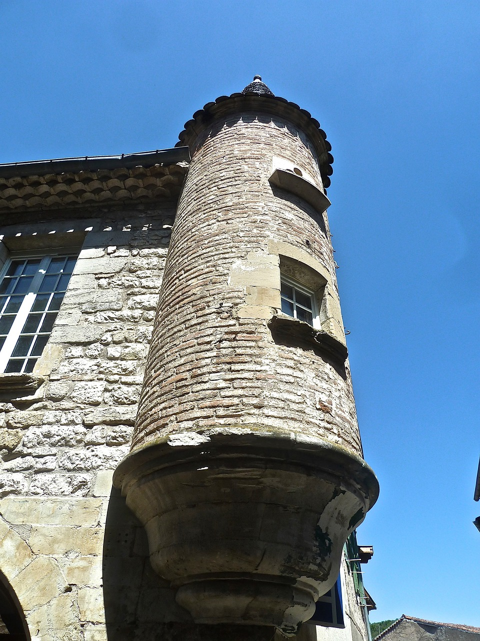turret corner tower free photo