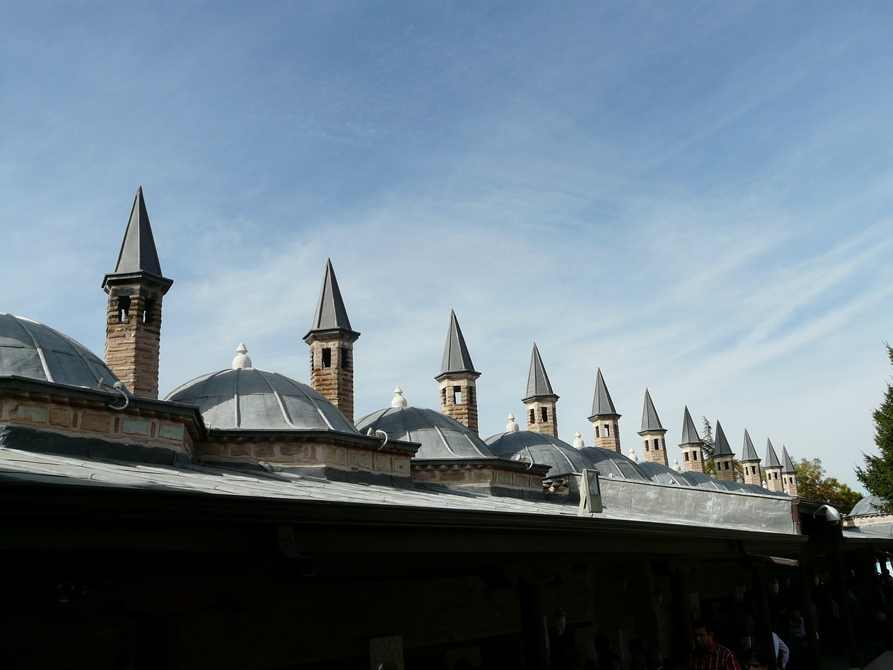 turret roofs mosque free photo