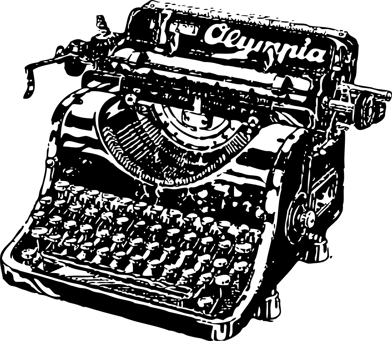typewriter,type,writer,mechanical,old,style,office,work,vintage,antique,key,typewriting,old-fashioned,obsolete,correspondence,typescript,free vector graphics,free pictures, free photos, free images, royalty free, free illustrations