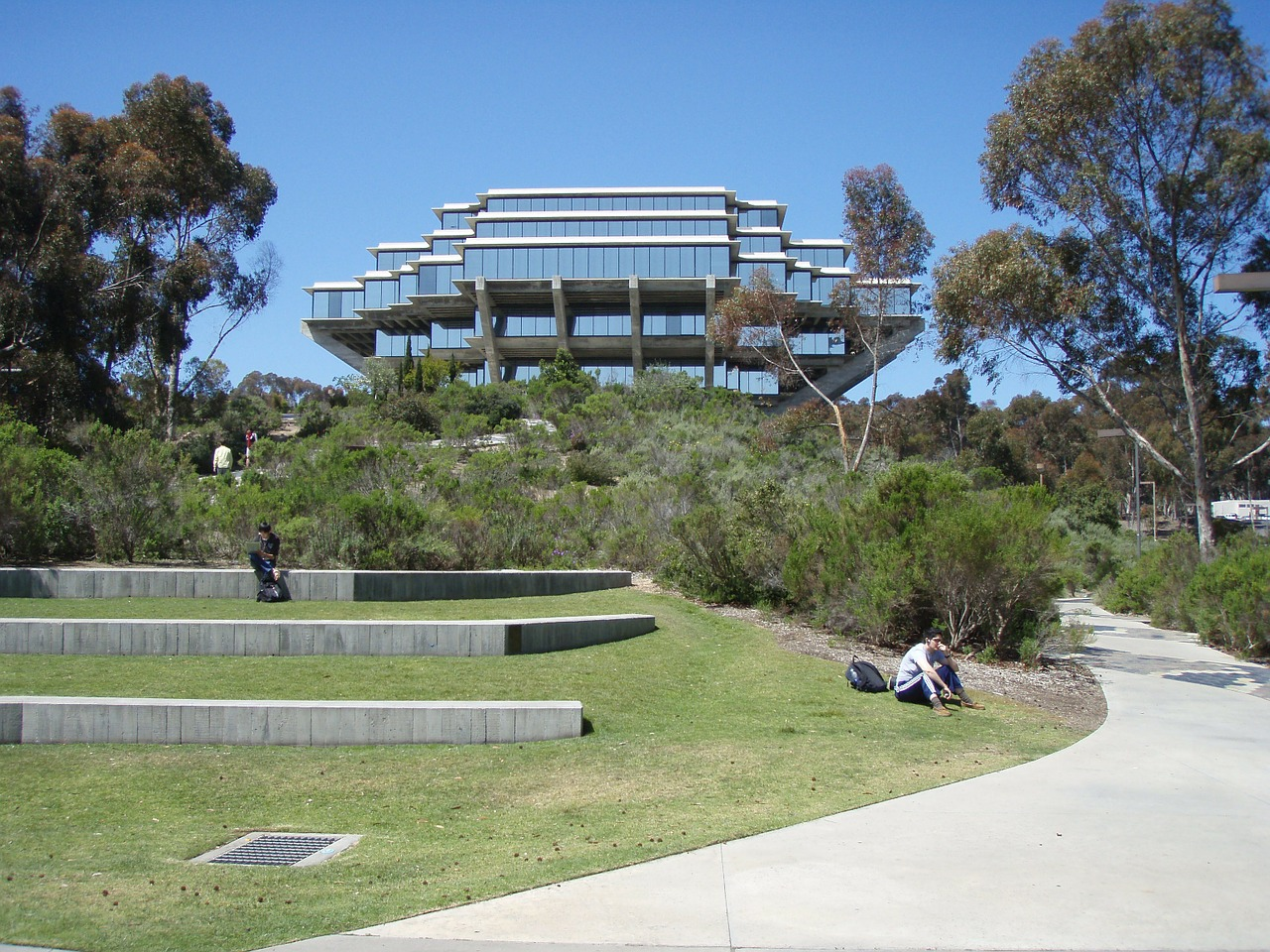 ucsd library san diego free photo