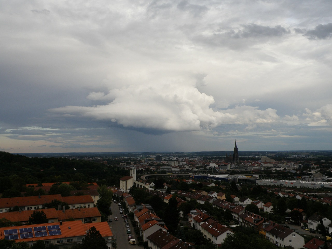 ulm outlook thunderstorm free photo