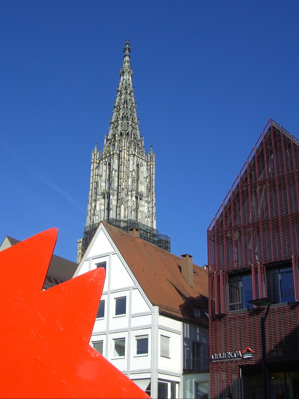ulm cathedral bowever new road free photo