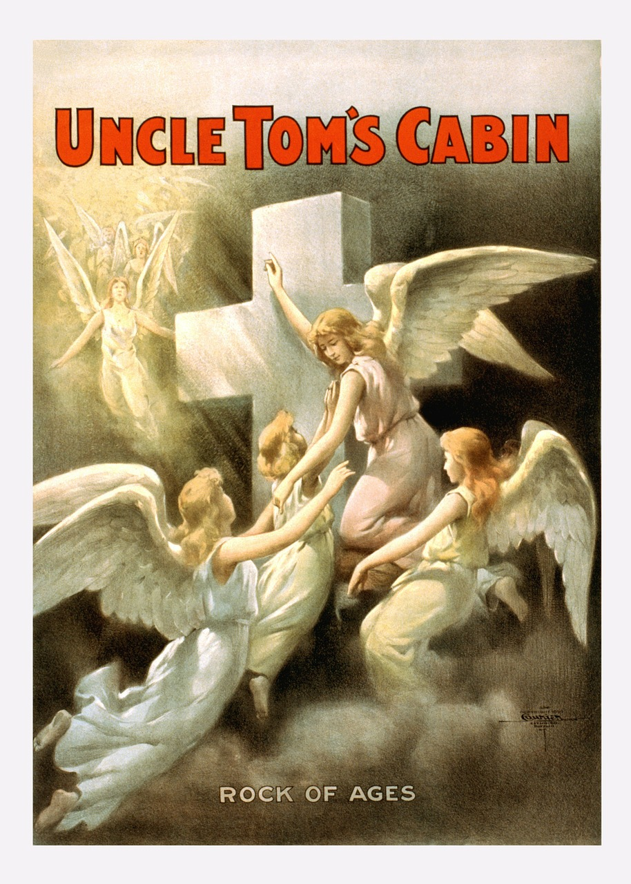 uncle tom's cabin vintage poster free photo