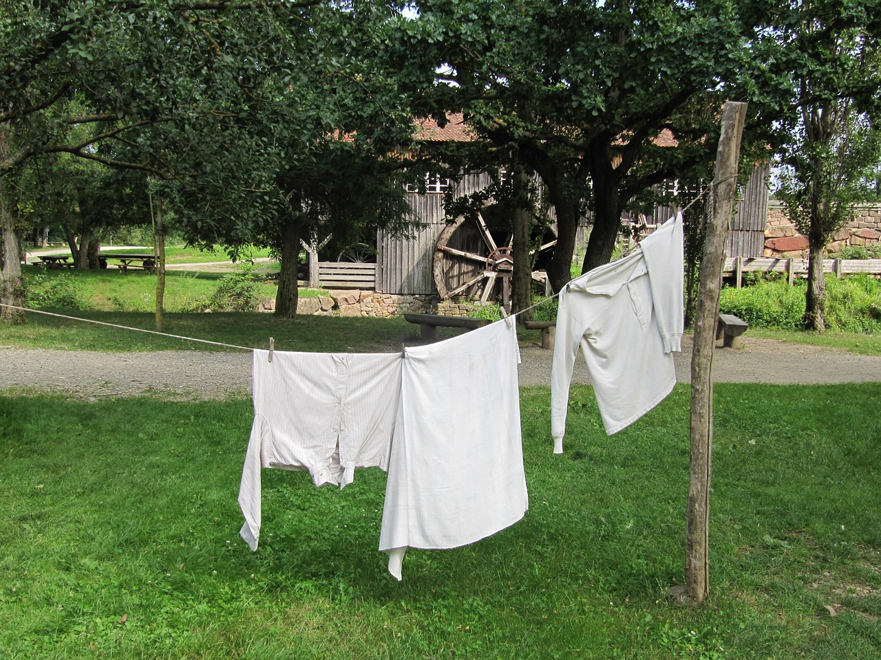 ungersheim ecomuseum clothes line museum free photo