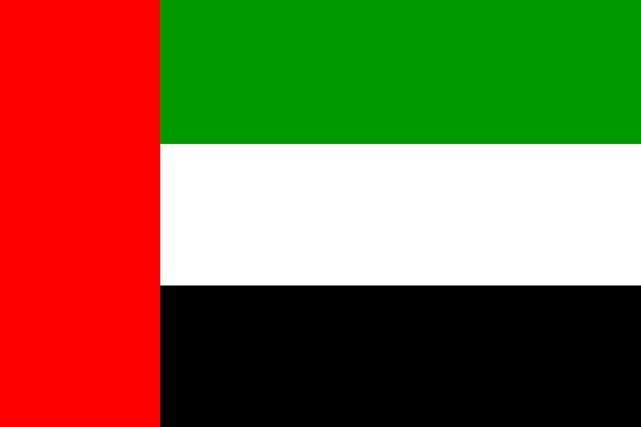 united arab emirates uae flag free photo