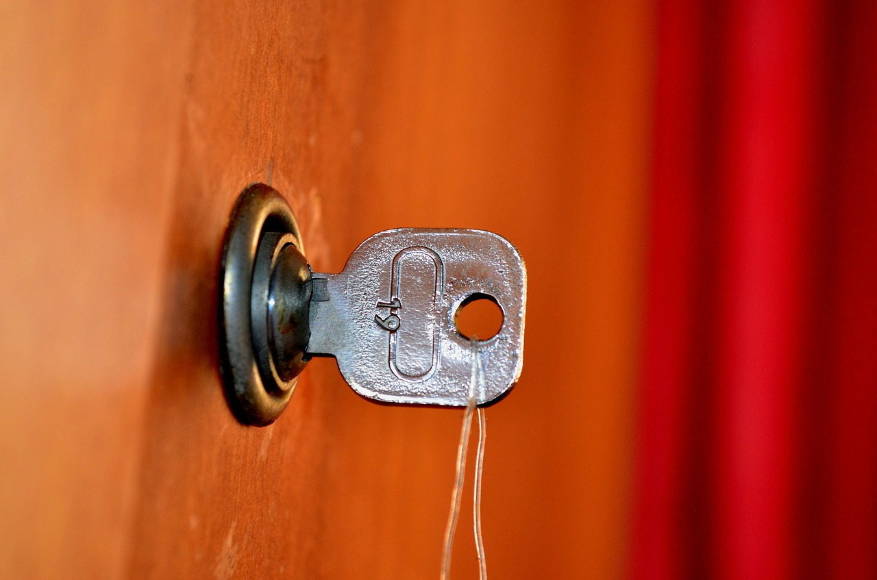 unlock door keys free picture