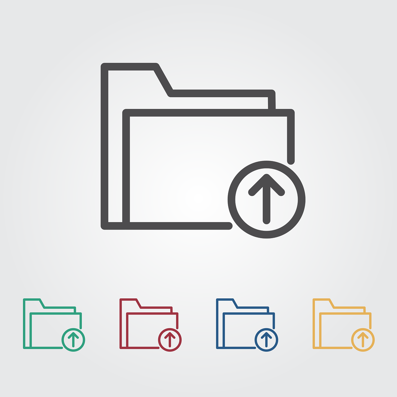 upload folder icon free photo