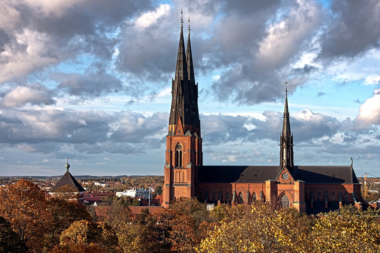 uppsala sweden scenic free photo