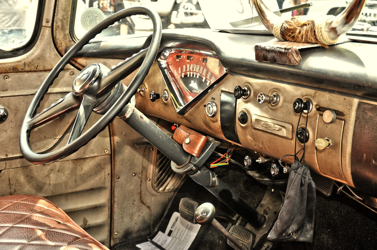 usa cars oldtimer pick up free photo