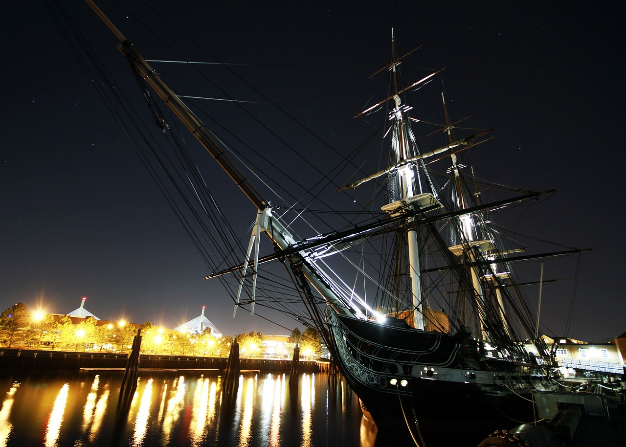uss constitution boston massachusetts free photo