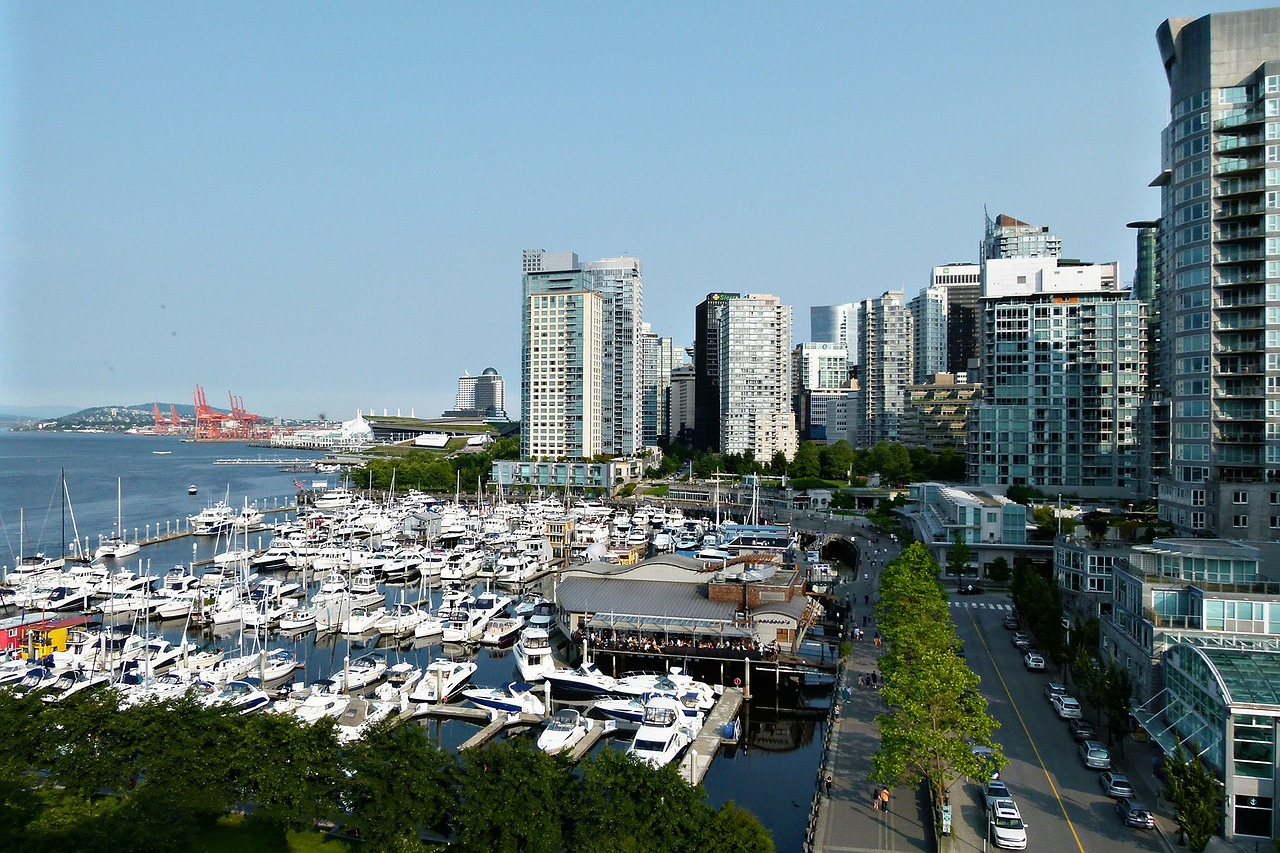 vancouver coal harbor city free photo