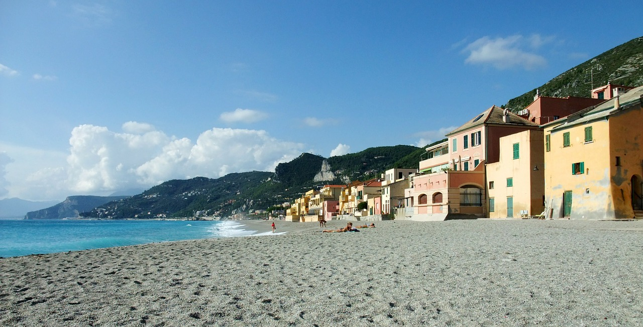varigotti italy beach free photo