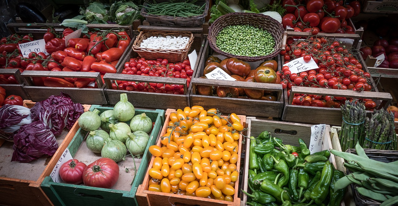 vegetable fresh market free photo