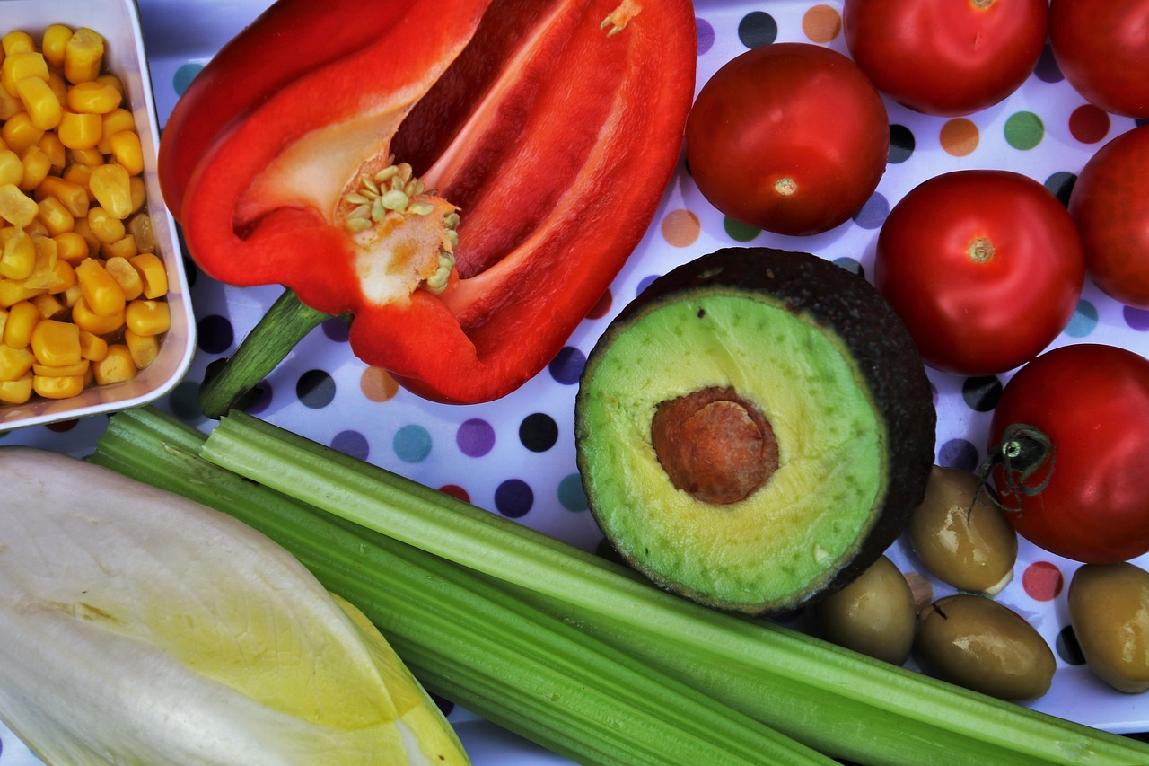 vegetables  diet  healthy free photo