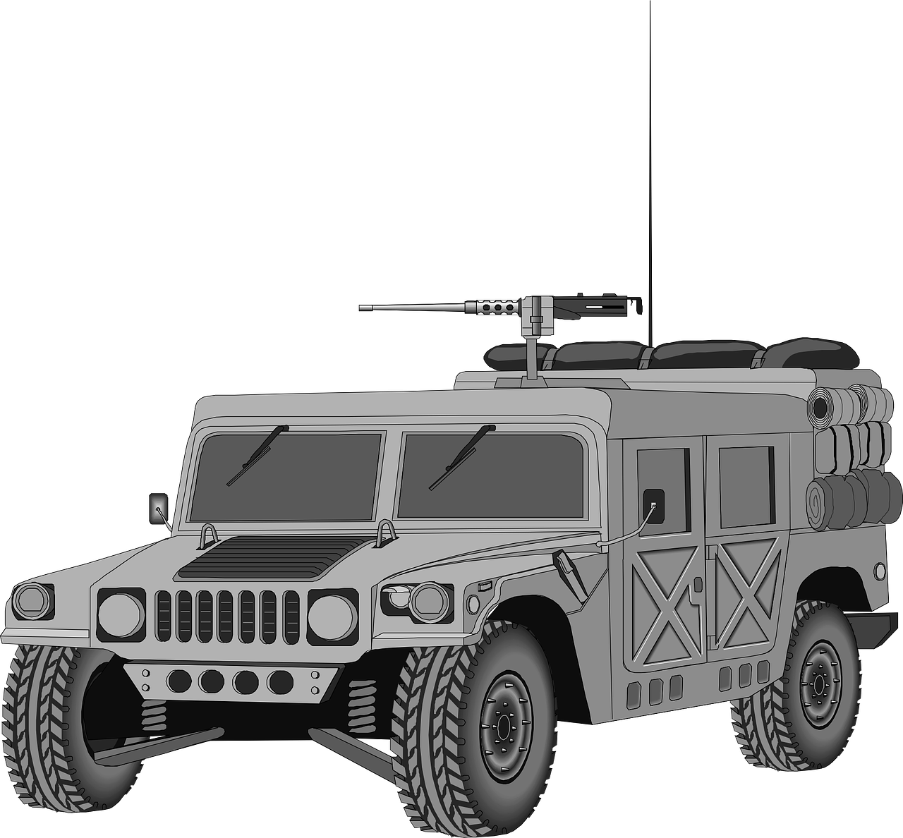 vehicle military hummer free photo