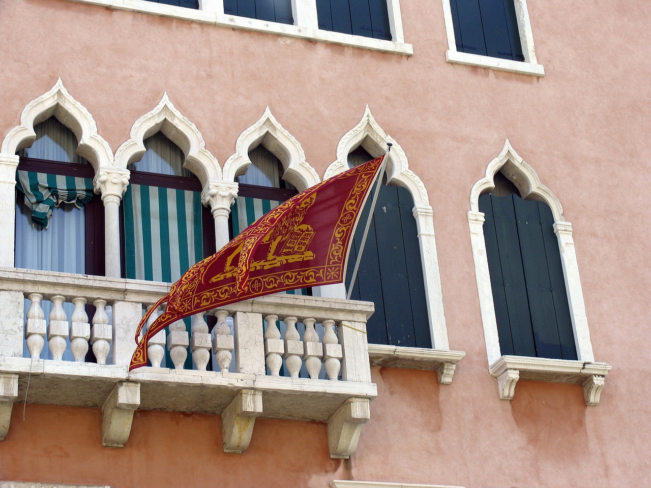 venice,water,flag,free pictures, free photos, free images, royalty free, free illustrations, public domain