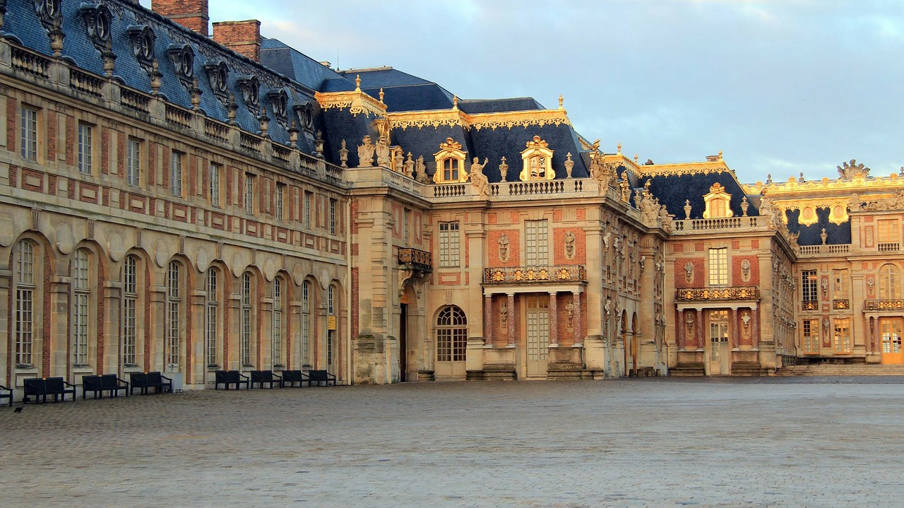versailles architecture france free photo