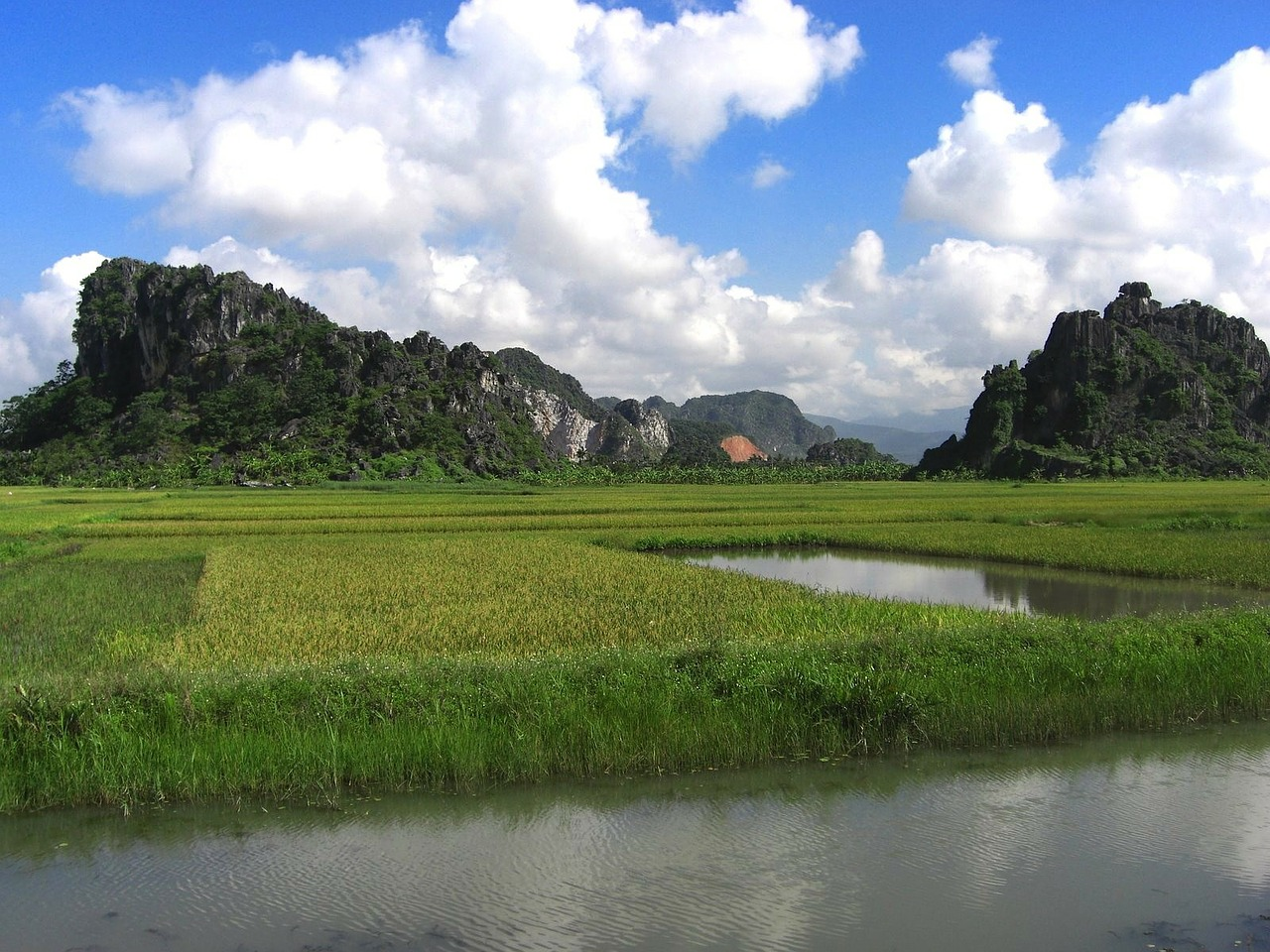 vietnam landscape sky free photo
