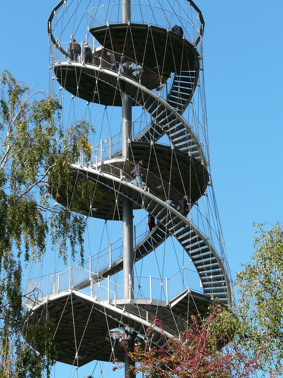 view observation tower tower free photo