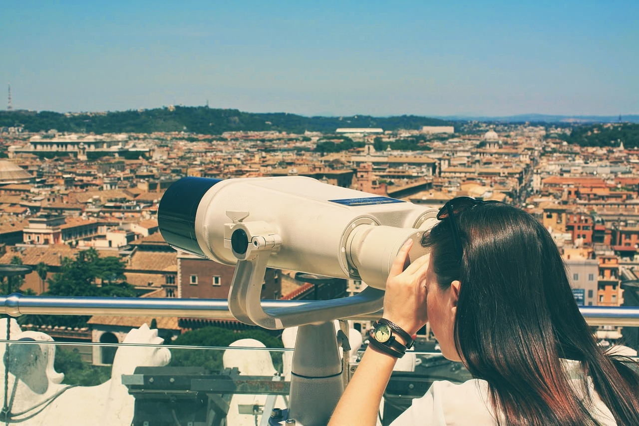 viewpoint spyglass hill rome free photo