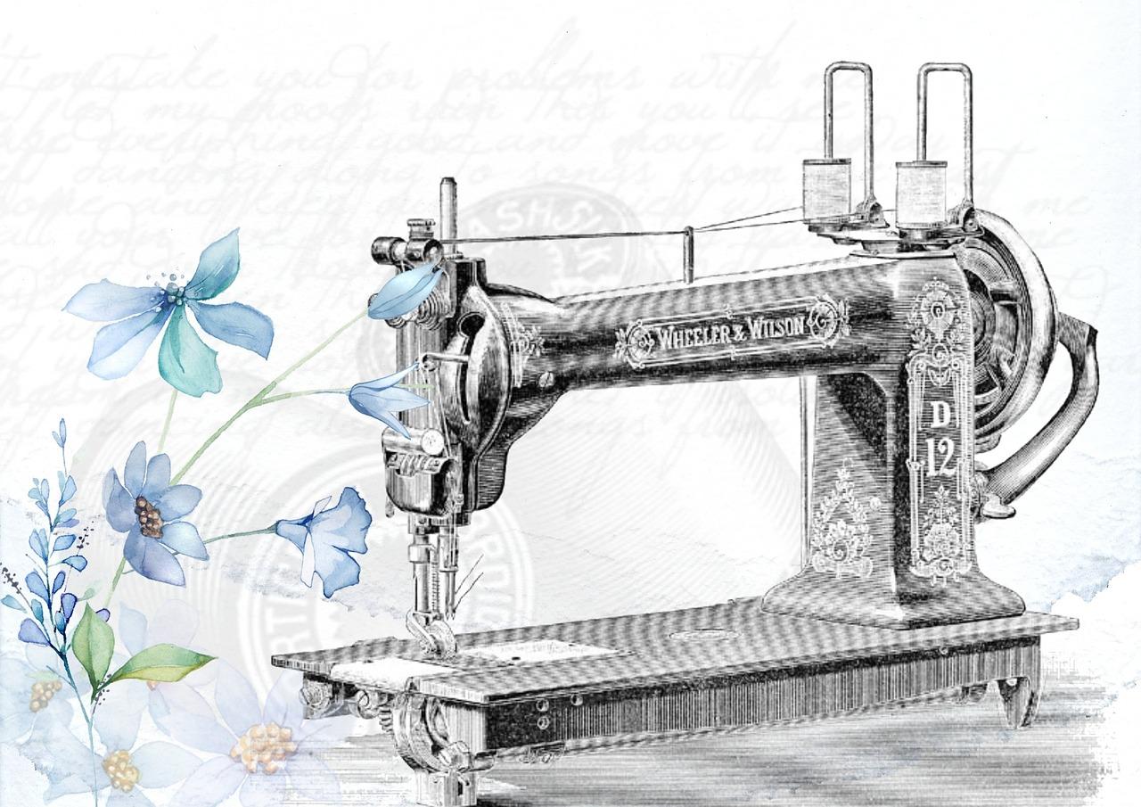 Vintage Sewing Machine Sew Needle Free Photo From Needpix Com