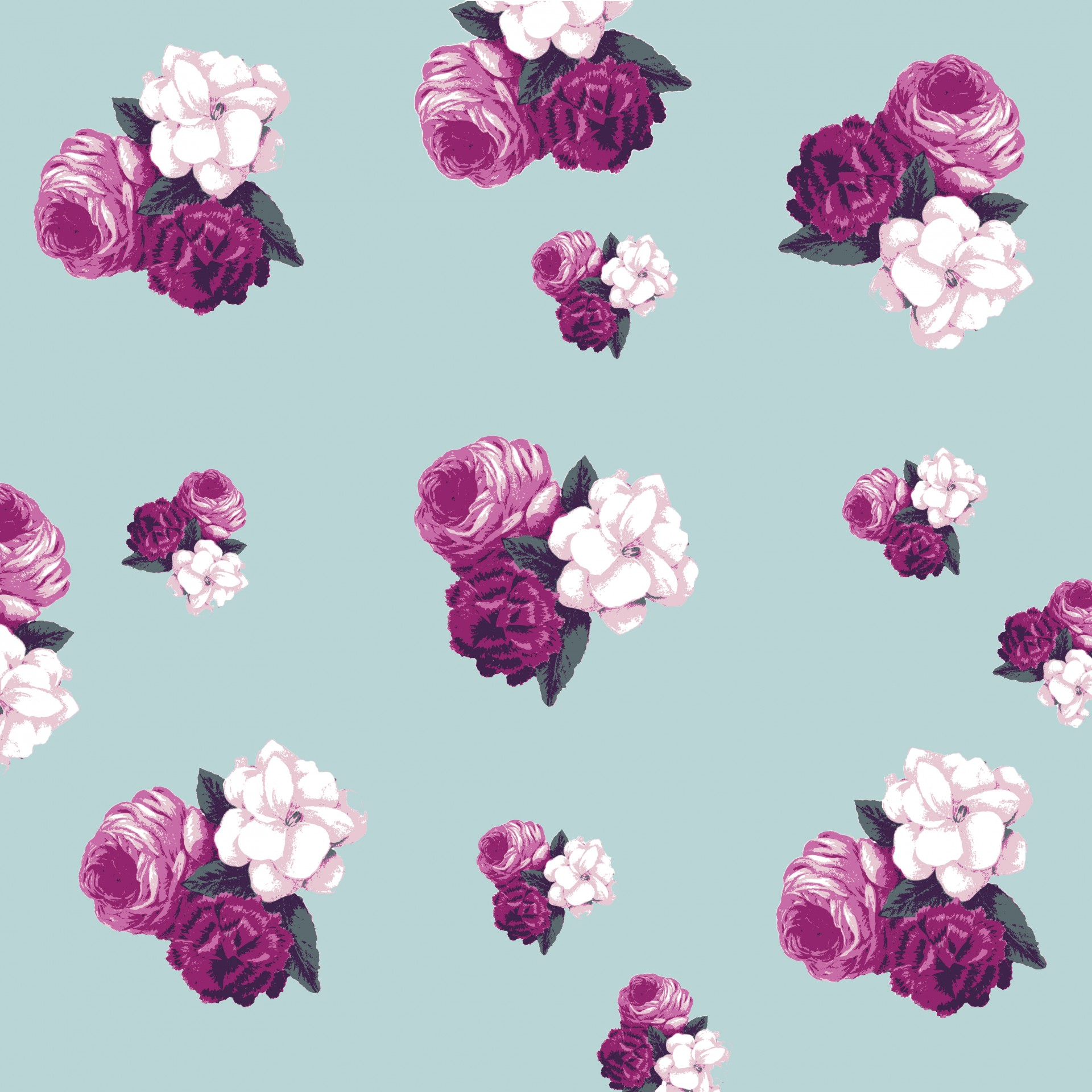 Flowers Floral Roses Vintage Wallpaper Free Image From Needpix Com