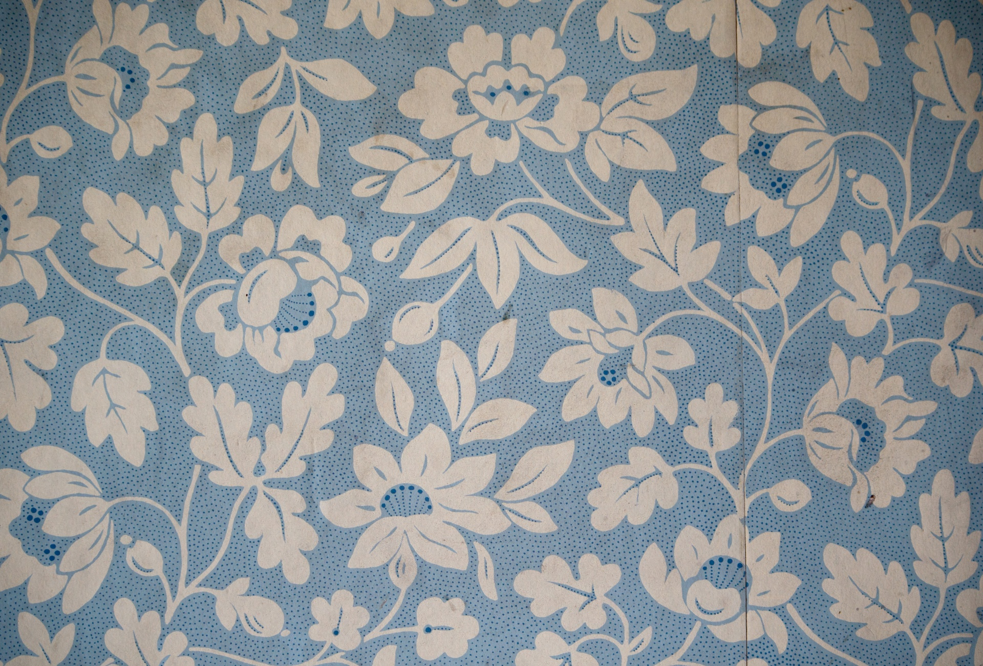 Vintage Floral Wallpaper Paper Background Free Image From