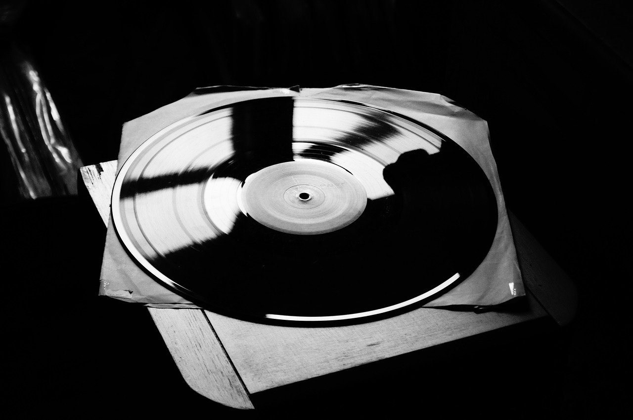 vinyl music board free photo